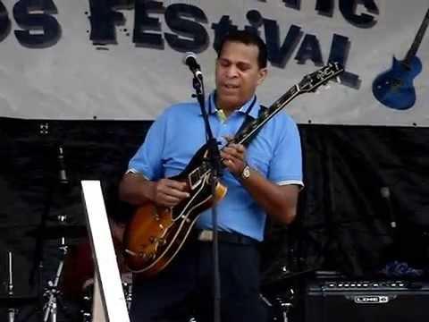 Melvin Taylor / North Atlantic Blues Fest 2014 / Filmed by Sodafixer