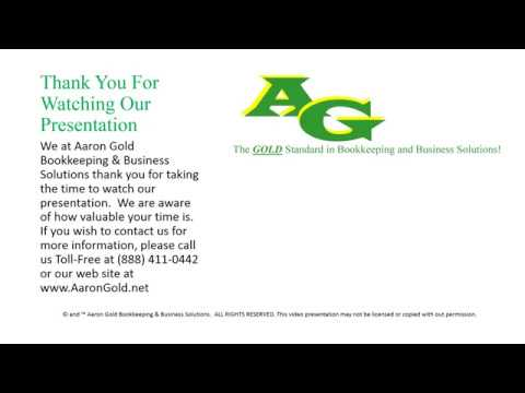 Fiduciary Duty Presentation -- Aaron Gold Bookkeeping & Business Solutions