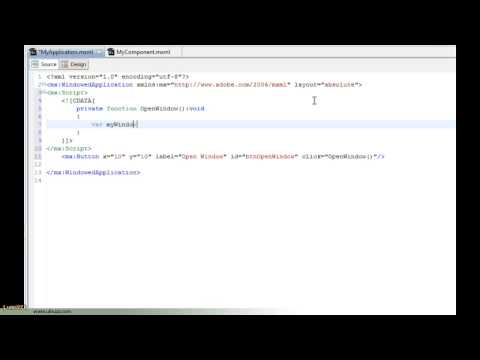 Adobe AIR - Opening another application window using ActionScript
