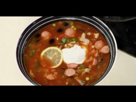 Солянка сборная мясная (суп) рецепт от шеф-повара / Илья Лазерсон / русская кухня