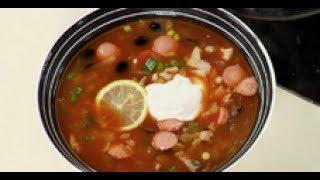видео Как приготовить солянку: солянка суп рецепты