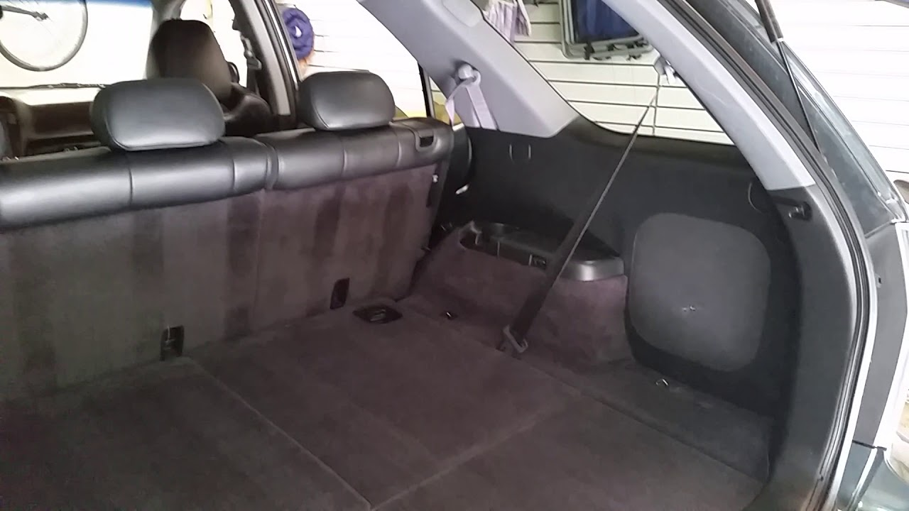 2001 2006 Acura Mdx Touring Suv Checking Cargo Area E Room With 2nd Row Seats Up