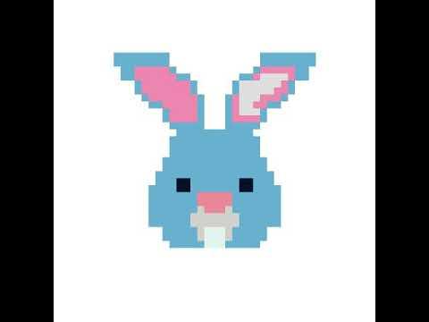 Lapin Pixel Art