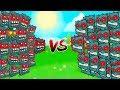 BATTLES between BOX FACTORY BOSS and CAVE BOSS (RED BALL 4)