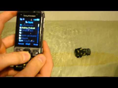 Sony Ericsson C702 тест телефона под водой