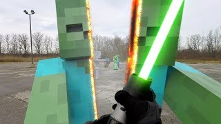 Star Wars vs Minecraft Real Life
