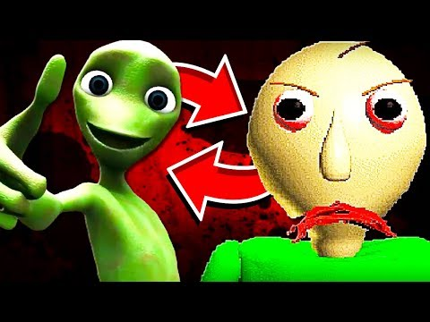 DAME TU COSITA and BALDI'S BASIC meet for the FIRST TIME!