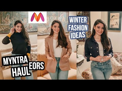 MYNTRA Winter Wear HAUL   Myntra EORS Sale   Winter Wear For Women   Myntra End Of Reason Sale 2019