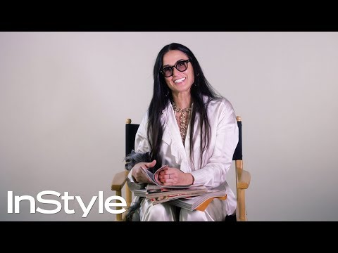 Demi Moore Looks Back at Her Past InStyle Covers | 25th ...