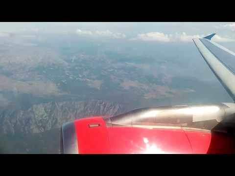 Air Serbia Flight JU173 | Airbus A319 | Podgorica to Belgrade Landing