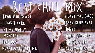 Pop R&B chill mix 💕 Top Hits 2021 playlist (Beautiful Scars, At My Worst, Monster)