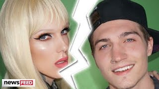 Jeffree Star UPDATES Fans On Split From Nate Schwandt!