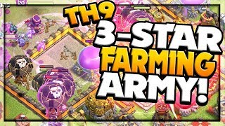 CRUSHING Higher Town Halls Clash of Clans 3 Star Army Farm to MAX #6