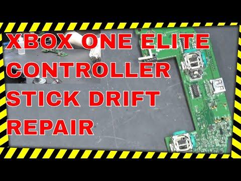 XBOX ONE ELITE CONTROLLER STICK DRIFT REPAIR www.ubermicro.co.uk
