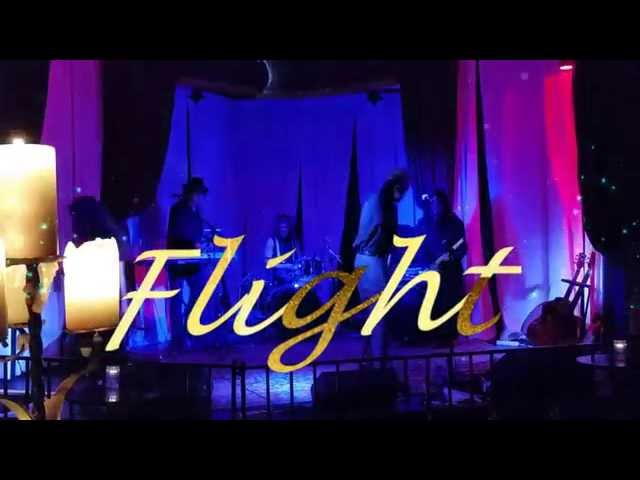 Flight Right kind of Wrong Guitar Solo Outro Boardners Hollywood 111314