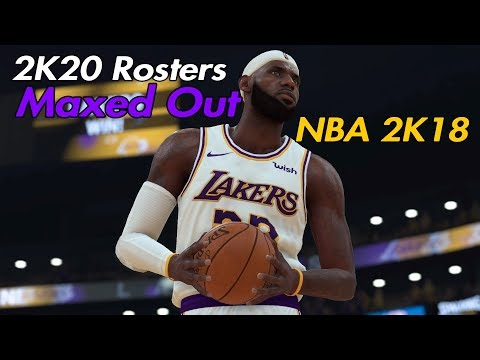 NBA 2K18 / With NBA 2K20 Roster - Added Carsen Edwards-  Update 1.12