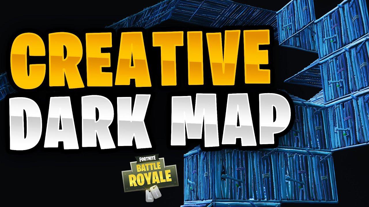 Dark 1v1 Map/Arena! + Island Code   Fortnite Creative Mode