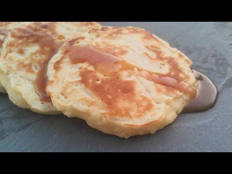 pancake-au-pommes-بان-كيك-بالتفاح-لذيذ-و-سهل