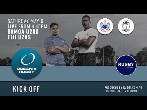 2017 Oceania Rugby Round 3 U20s Championship Samoa v Fiji