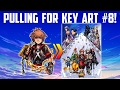 PULLING FOR KEY ART #8 - Japan Medal Pull - Kingdom Hearts Unchained X
