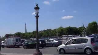 Egyptian Luxor Obelisk,  Place de la Concorde, Paris, France