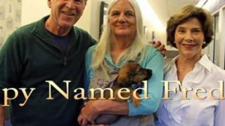 George W  Bush and Wife Laura Adopt Adorable New Puppy Named Freddy