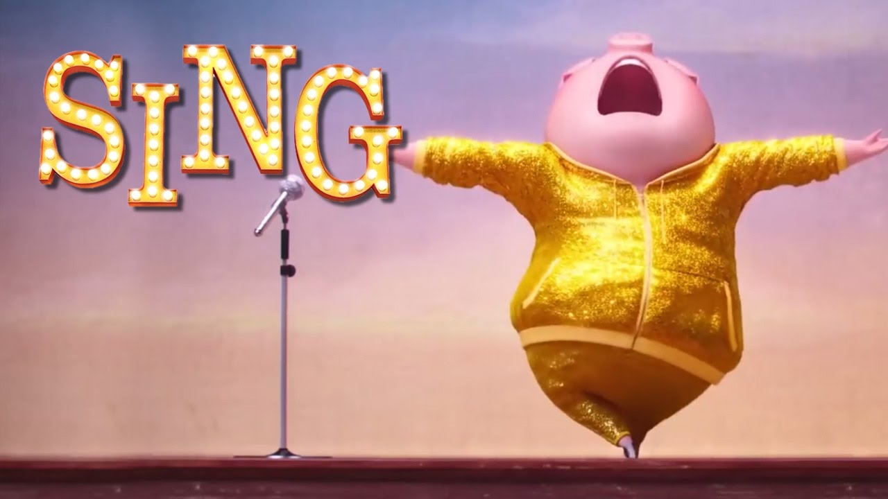 SING movie 2016 - Best Funny Moments - YouTube