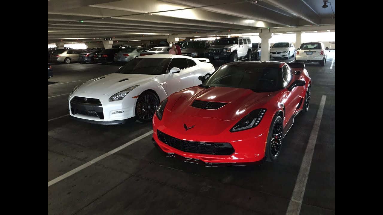 Nissan Gtr Godzilla >> C7 Z06 Corvette vs Godzilla Nissan GT-R (Both are 2016