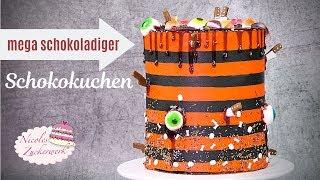 Halloween Torte 👁 ultraleckerer Schokokuchen für die Halloweenparty / Nicoles Zuckerwerk
