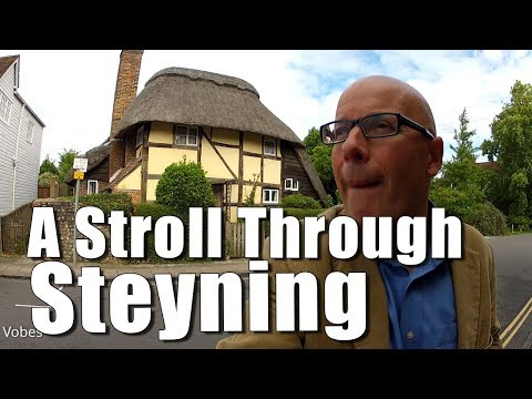Walks in England: A Stroll Through Steyning in West Sussex