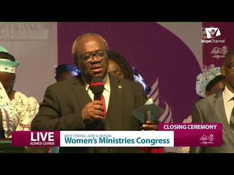 Final Day- WOMEN'S MINISTRY CONGRESS - Closing Ceremong