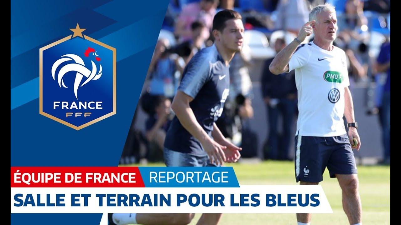 Equipe de France : De la salle au terrain avec les Bleus I FFF 2018