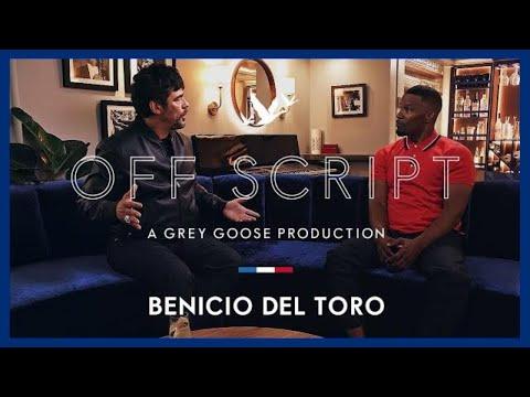 OFF SCRIPT a Grey Goose Production  Jamie Foxx & Benicio Del Toro