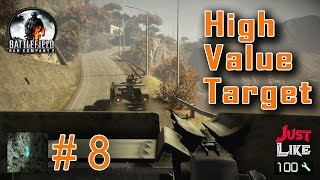 Battlefield Bad Company 2 Mission 8 High Value Target Gameplay