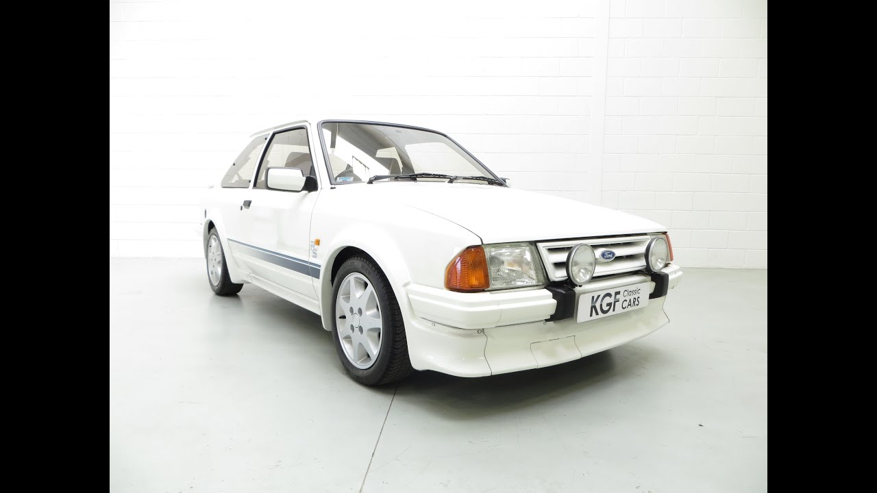 a meticulous ford escort series 1 rs turbo custom just 17 523 miles history file sold youtube. Black Bedroom Furniture Sets. Home Design Ideas