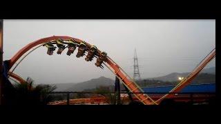 imagica Rides Nitro Roller Coaster-India's Best amusement park (adlab imagica)