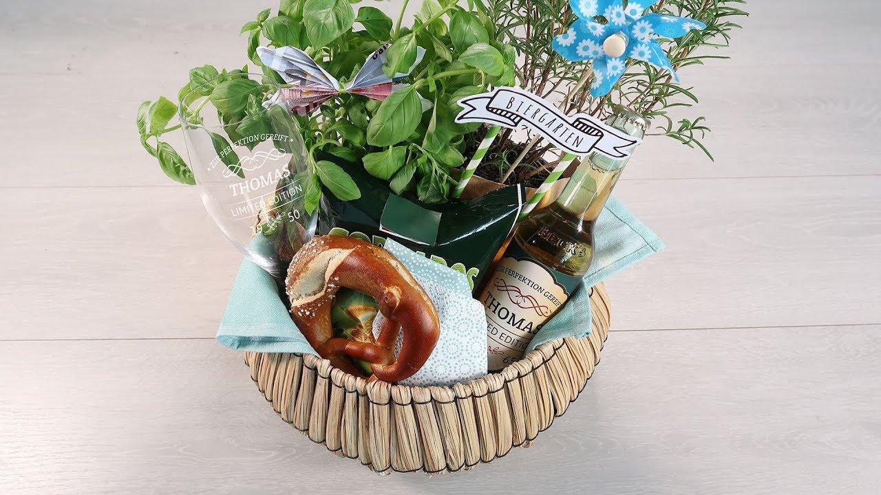 Mini Biergarten Witziges Geschenk über Das Sich Jeder Freut Der Bier Liebt Geldgeschenke Männer