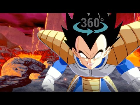 Dragon Ball Fight in 360 VR 4K Virtual Reality