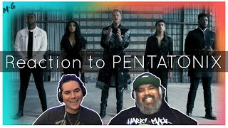 Reaction to Pentatonix: The Sound of Silence
