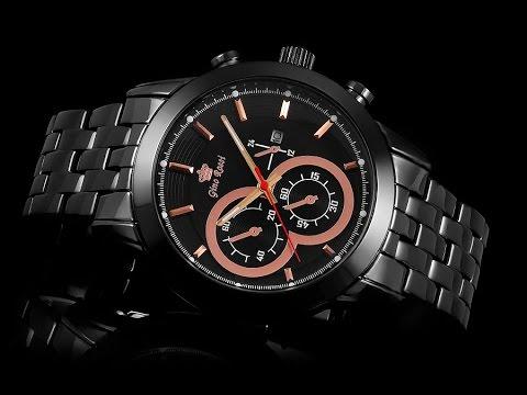 313e8e1233562 Zegarek Męski Gino Rossi NEO-STYLE II BLACK outletwatch.pl - YouTube