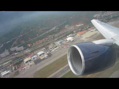 Aeromexico Boeing 767-200ER Takeoff from Caracas (CCS)