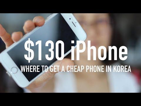 Where To Get CHEAP IPhone & REPAIRS Done In SEOUL, KOREA
