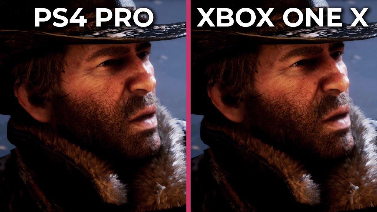 [4K] Red Dead Redemption 2 \u2013 PS4 Pro vs. Xbox One X Graphics Comparison