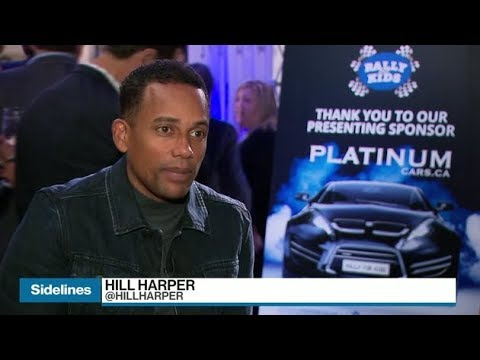 Hill Harper's entrepreneurial efforts span coffee and skincare