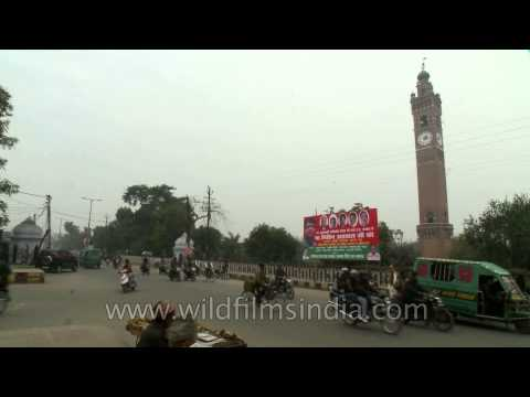 Clock Tower or Ghanta Ghar of Lucknow