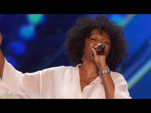 Americas Got Talent 2016 Ronee Martin 62 Y.O. Singers 2nd Chance Full Audition Clip S11E04