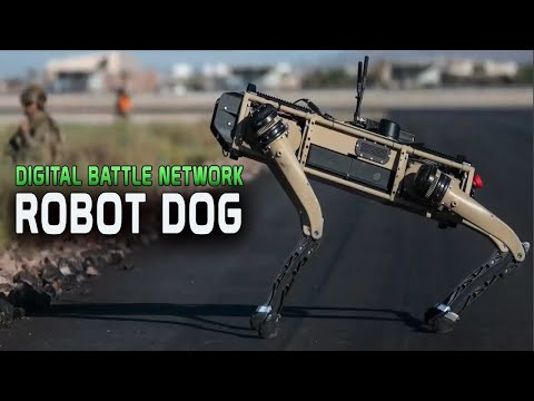 U.S. Air Force Deploys Robot Dogs to Guard Airbases as Part of Digital Battle Network