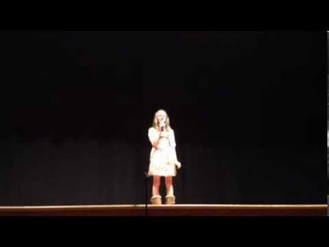 AMAZING 13 Year Old Singer Has a Gifted Voice That Will Give You Chills - OMG!