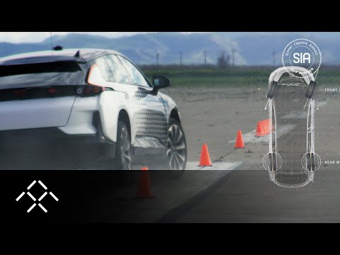Testing the FF 91: Dynamic Vehicle Control