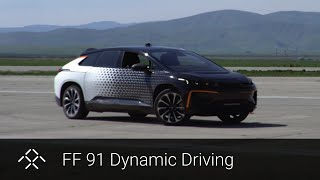 Faraday Future | Testing Dynamic Vehicle Control | FF 91
